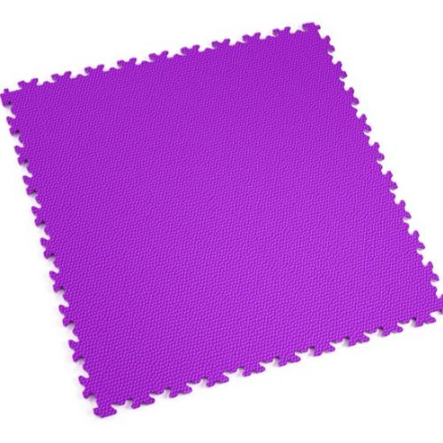 Purple Snakeskin - Motolock Interlocking Floor Tile